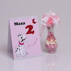 Nr de Masa Botez Dalmatian Roz
