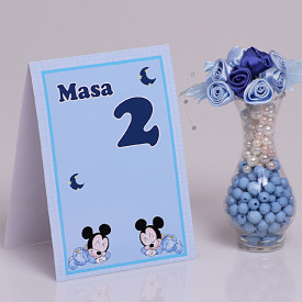 Nr de Masa Botez Gemeni Mickey Mouse 2