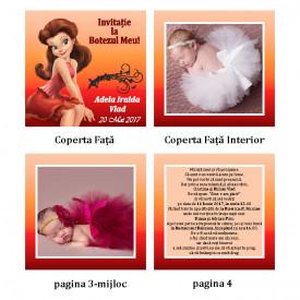Invitatie Botez Carticica Rosetta