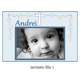 Invitatie Botez Cu Capsa Disney 12