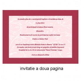 Invitatie Botez Ingeras Disney 9