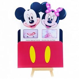 Invitatie Gemeni PRO Mickey-Minnie Var 1