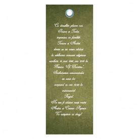 Invitatie Nunta Label INL30