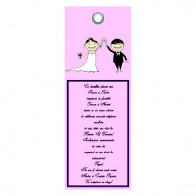 Invitatie Nunta Label INL50