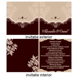 Invitatie Nunta Patrata INPT3