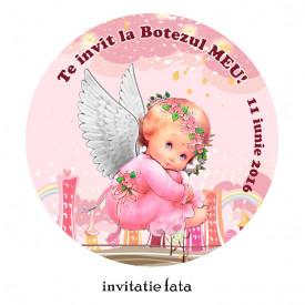 Invitatii Botez Rotunde Ingeras