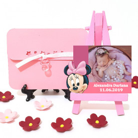 Magnet Contur Minnie Mouse 14