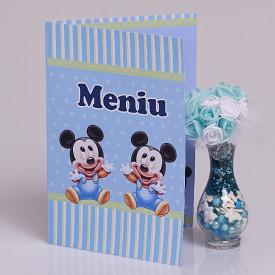 Meniu Botez Gemeni Simplu Mickey Mouse 1