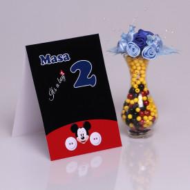 Nr de Masa Botez Mickey Mouse 3
