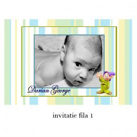 Invitatie Botez Cu Capsa Disney 36