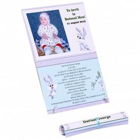 Invitatie Botez Papirus Bugs Bunny
