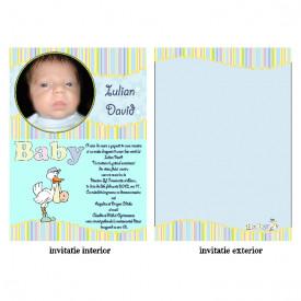 Invitatie Botez Papirus Disney Bebe 25