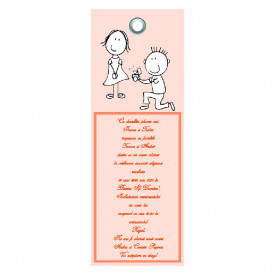 Invitatie Nunta Label INL47