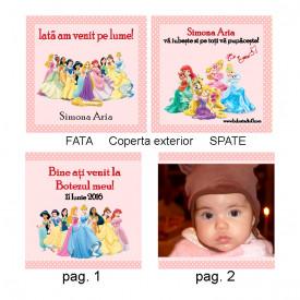 Marturie Botez Carticica 10 Foto Printese Disney