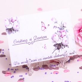 Marturie Nunta Magnet Vintage Wedding