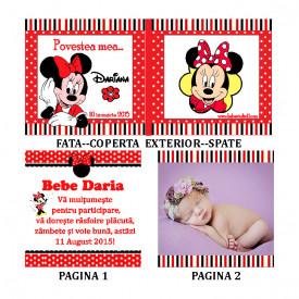 Marturii Botez Carticica 6 Foto Minnie Mouse 3