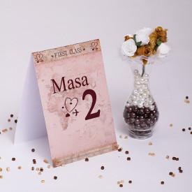 Nr de masa Nunta NRMN54