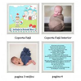 Invitatie Botez Carticica Print 1