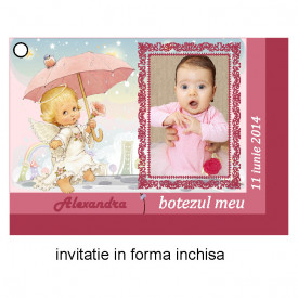 Invitatie Botez Ingeras Disney 8