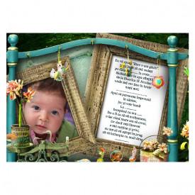 Invitatie Botez Magnetica Poveste 3