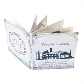 Invitatie Nunta Carticica Roma