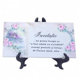 Invitatie Nunta Happy Vintage