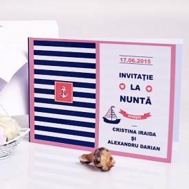 Invitatie Nunta Mare Albastra