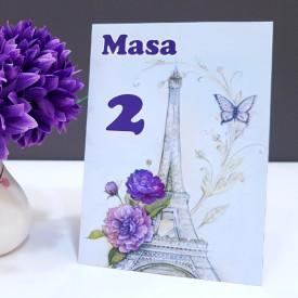 Nr de masa 2 in 1 Nunta-Botez NB7