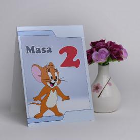 Nr de Masa Botez Tom and Jerry