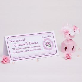 Plic Nunta Roses