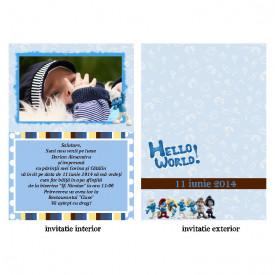 Invitatie Botez Papirus Disney Bebe 23