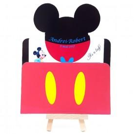 Invitatie Botez PRO Mickey Mouse 2