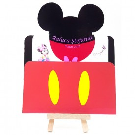 Invitatie Botez PRO Minnie Mouse 2