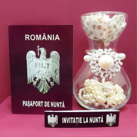 Invitatie Nunta BBS5 Pasaport