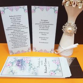 Invitatie Nunta Ciocolata Vintage