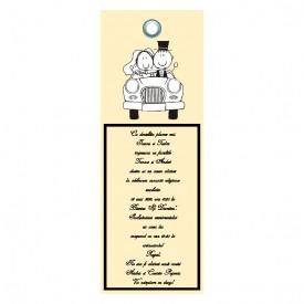 Invitatie Nunta Label INL41