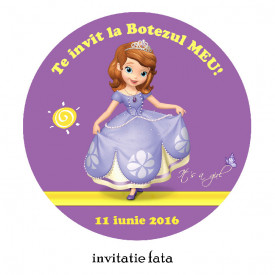 Invitatii Botez Rotunde Sofia 1
