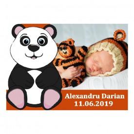 Magnet Contur Ursulet Panda 2