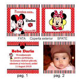 Marturie Botez Carticica 10 Foto Minnie Mouse 2