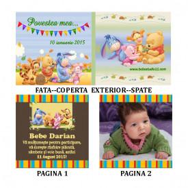 Marturie Botez Carticica 6 Foto Winnie the Pooh
