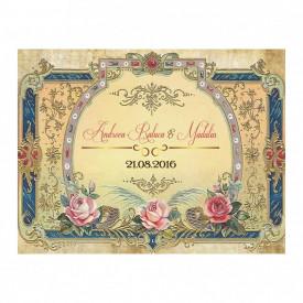 Marturie Nunta Magnet Victorian Wedding
