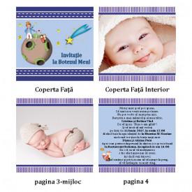 Invitatie Botez Carticica Micul Print