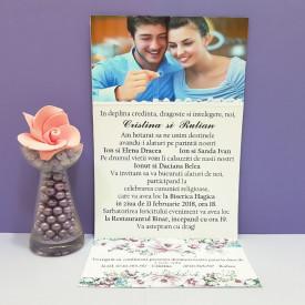 Invitatie Nunta Florale Primavara