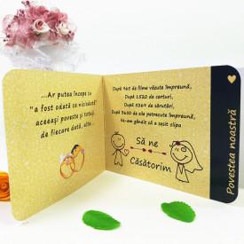 Invitatie Nunta Poveste de Nunta 1