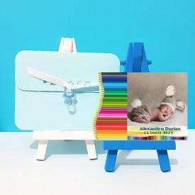 Magnet Contur Creioane Colorate