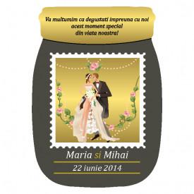 Marturie Nunta Magnet Special Borcanel