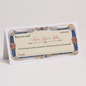 Plic Nunta Victorian Wedding