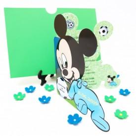 Invitatie Botez Contur Mickey Mouse 16