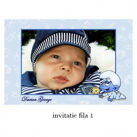 Invitatie Botez Cu Capsa Disney 34