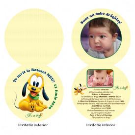 Invitatie Botez Rotunda Dubla Pluto